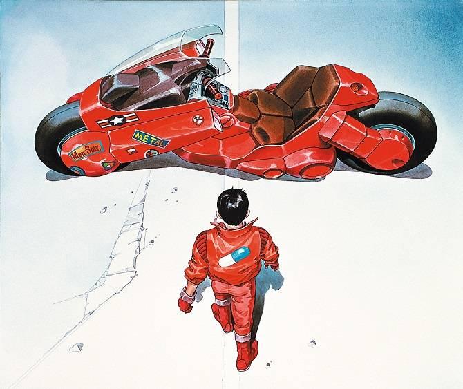 """Poster des Animes """"Akira"""""""