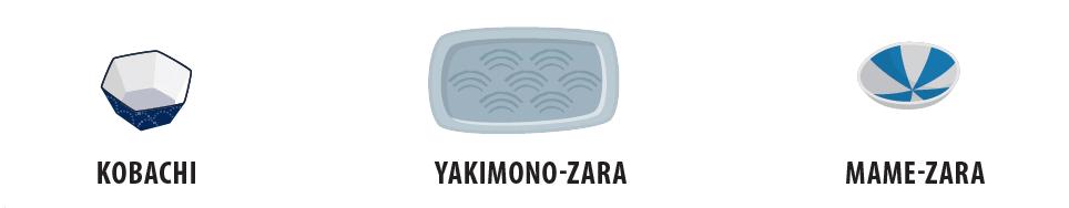 Japanische Schüsseln und Teller