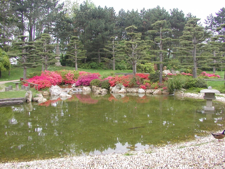 Japanischer Garten im Düsseldorfer Nordpark