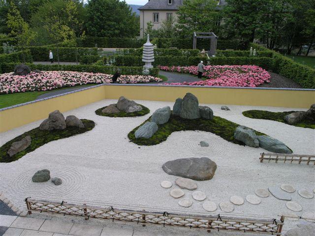Japanischer Garten U Raku En in Trier