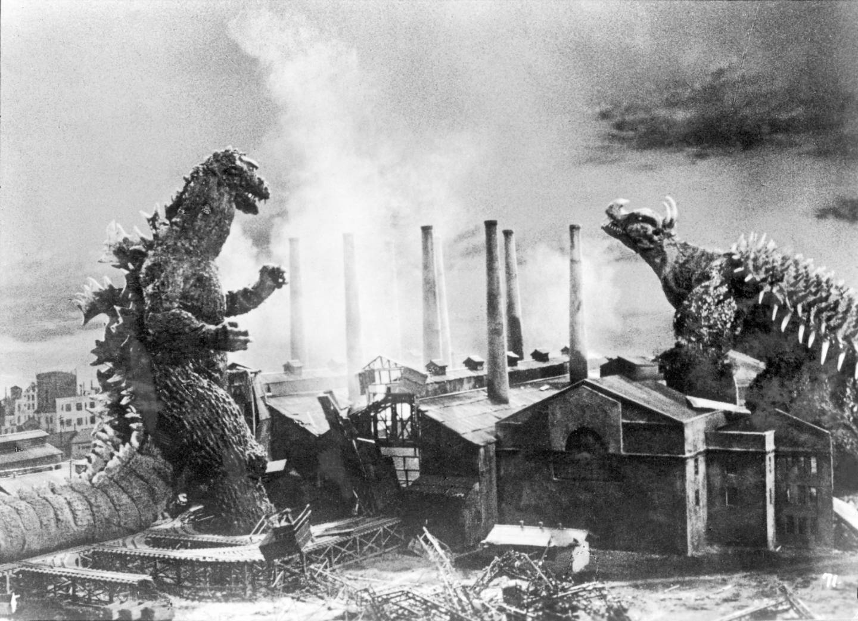 Szene aus dem Godzilla-Film von 1954