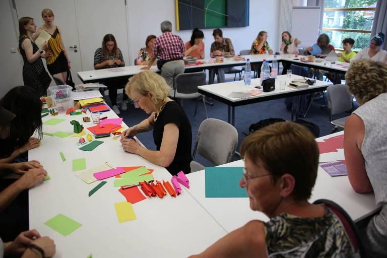 Origami-Workshop im JDZB