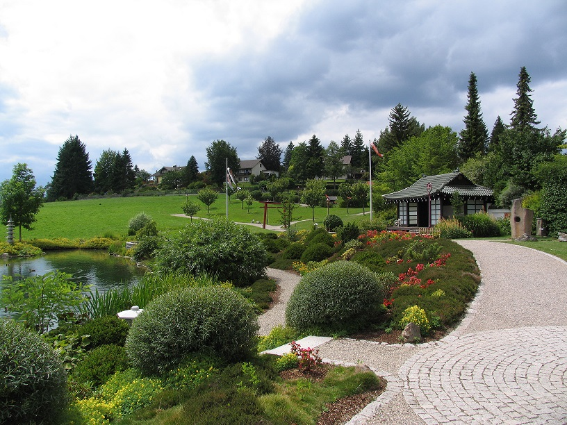 Japanischer Garten in Bonndorf