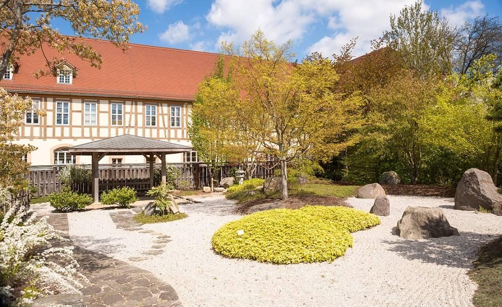 Japanischer Garten im Schlosspark Zeitz