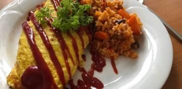 Omuraisu: japanisches Omelette