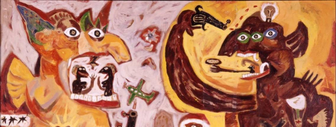 Kunstwerk von Heri Dono