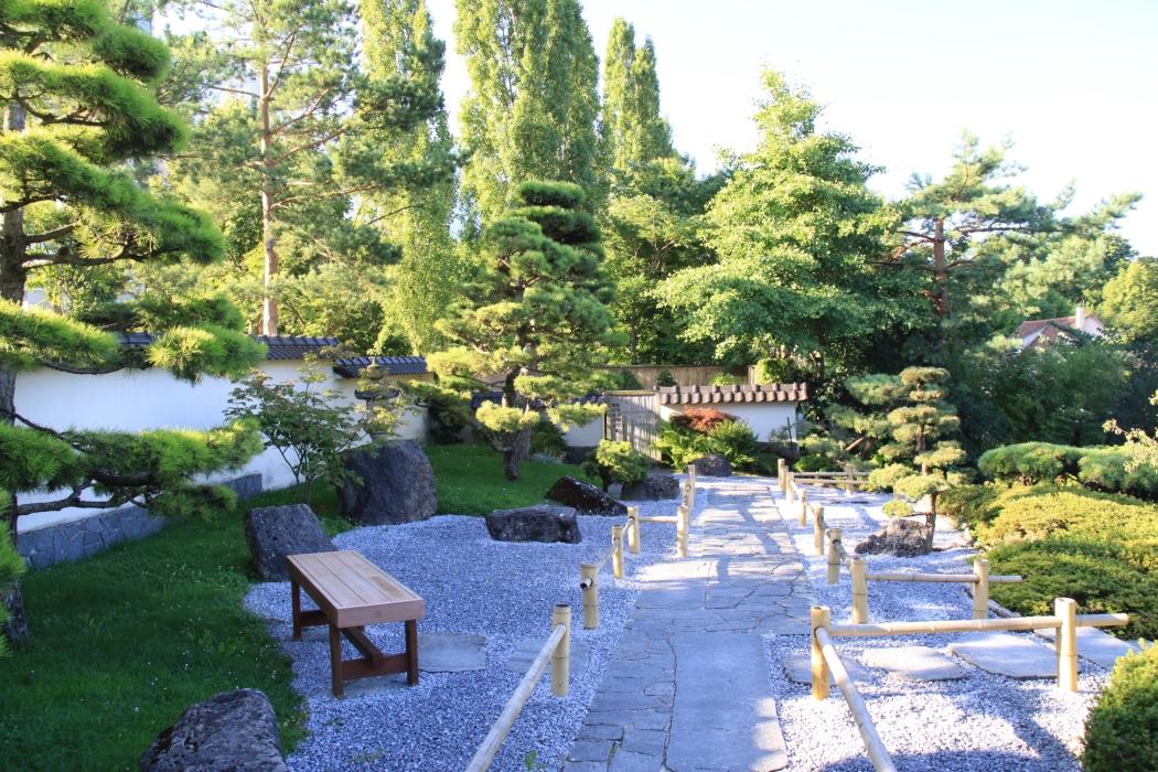 Japanischer Garten im Blühenden Barock