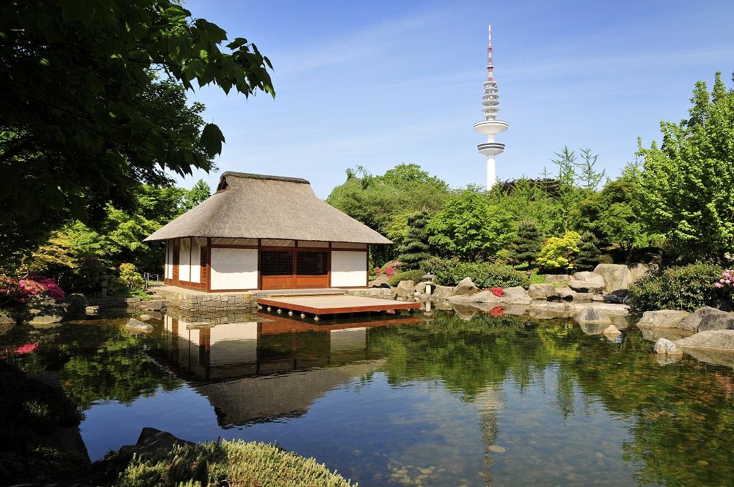 Japangarten im Hamburger Planten un Blomen