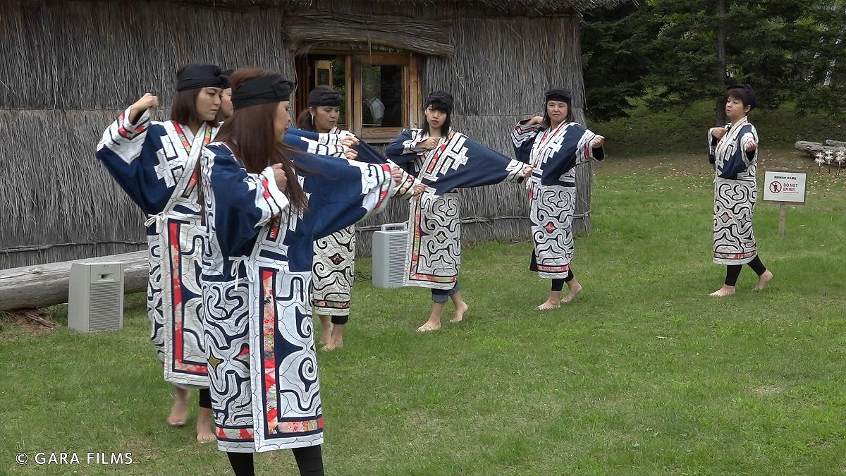"""Ausschnitt aus """"Ainu - Indigenous People from Japan"""""""