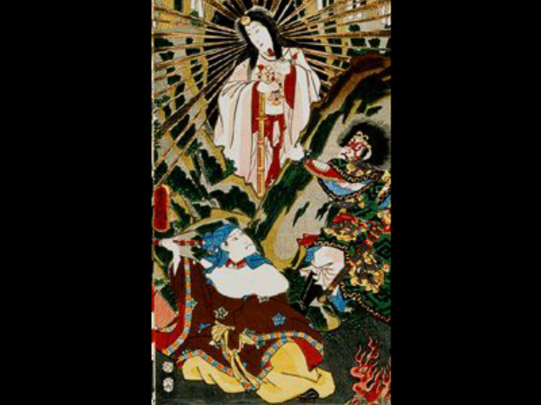 Abbildung der Göttin Amaterasu