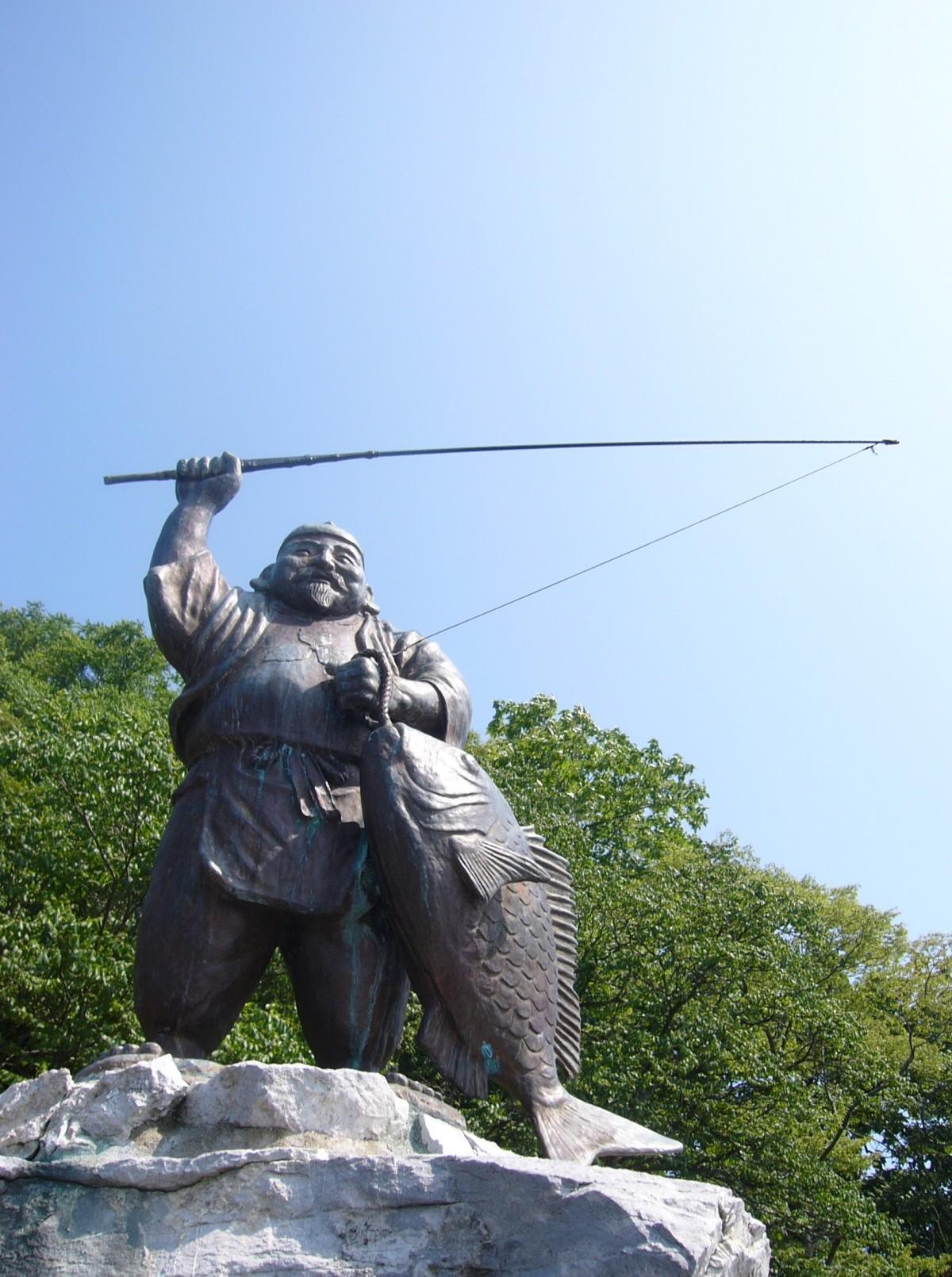 Ebisu-Statue