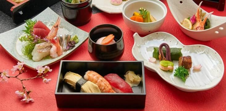 Japanisches Kaiseki-Menü