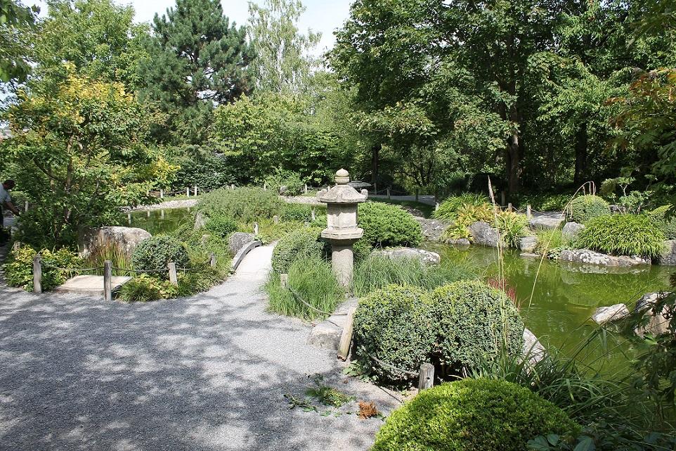 """Japanischer Garten """"Ômi no Niwa"""" in Würzburg"""