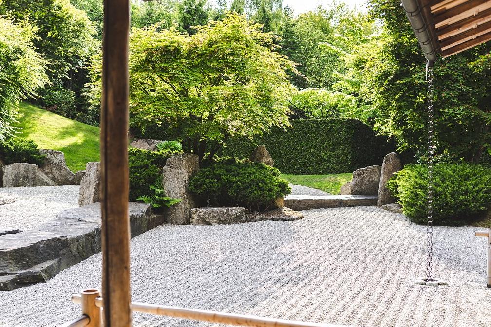 Der Japanische Garten in den Gärten der Welt in Berlin