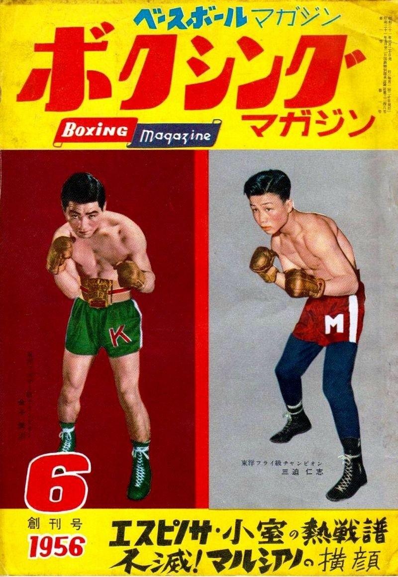 altes japanisches Box-Poster