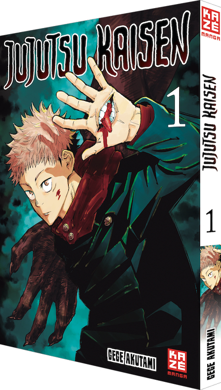 "Manga ""Jujutsu Kaisen"" von Akutami Gege"