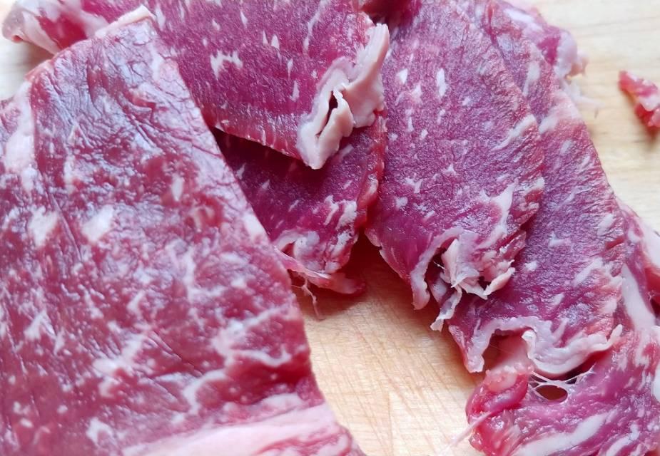 Rindfleischscheiben
