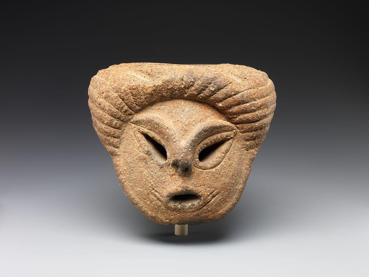 Abgebrochener Kopf im Katsusaka-Stil (2500-1500 v. Chr.)