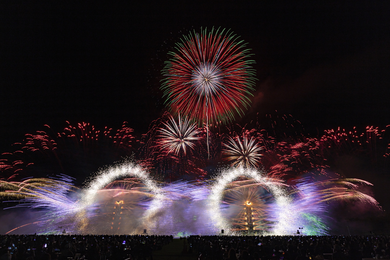 Feuerwerk in Numata