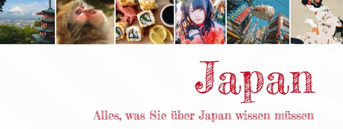 """Buchcover """"Japan. Alles, was Sie über Japan wissen müssen"""" von Susanne Phillipps"""
