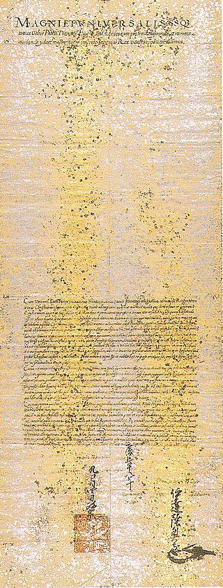Brief an den Papst 1613