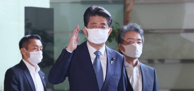 Premierminister Abe Shinzō