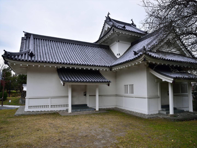 Ruinen von Schloss Aoba in Sendai