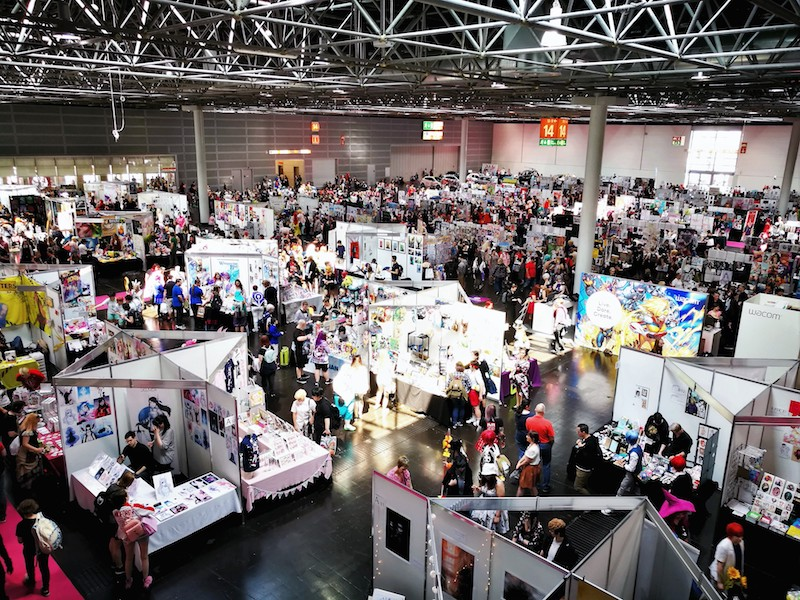 DoKomi 2020: Shopping-Bereich