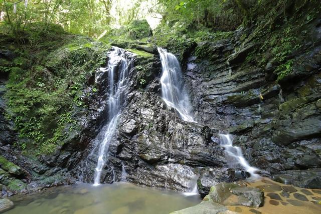 Wasserfall beim Berg Inunaki