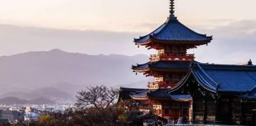 Kiyomizu-dera in Kyōto