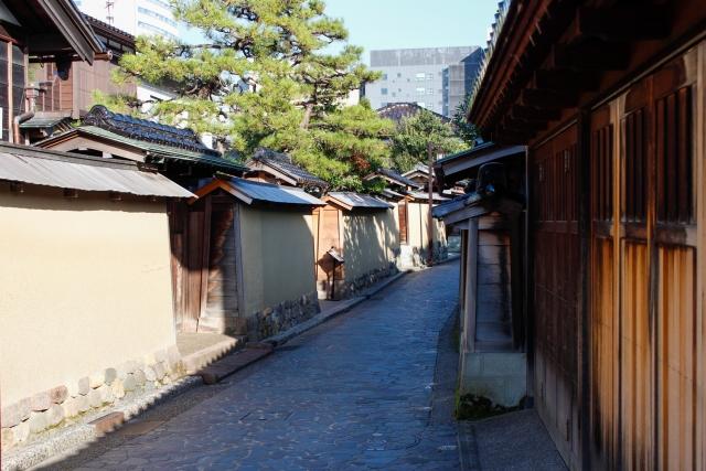 Gasse in Nagamachi