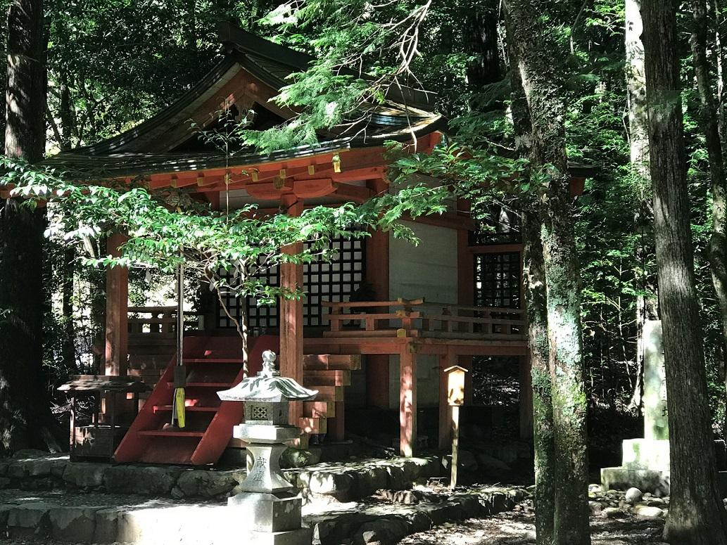 Hosshinmon-ôji auf dem Nakahechi-Weg