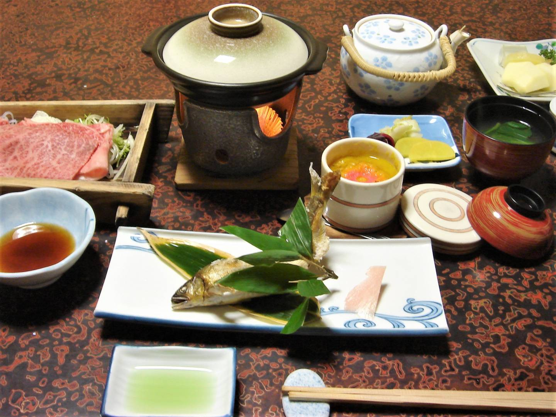 Kaiseki-Menü in Wakayama