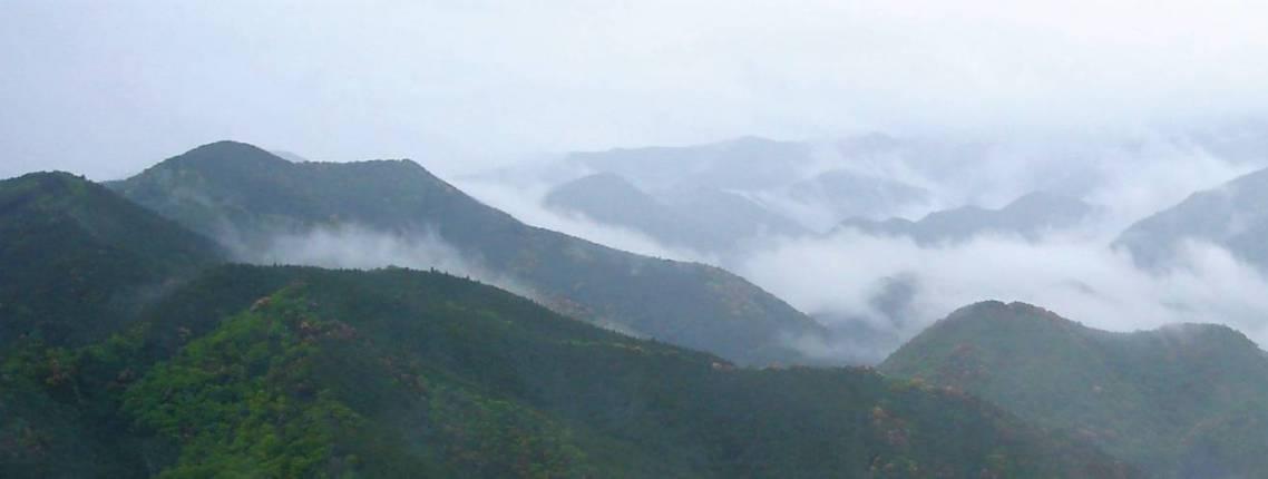 Gebirge in der Kumano-Region