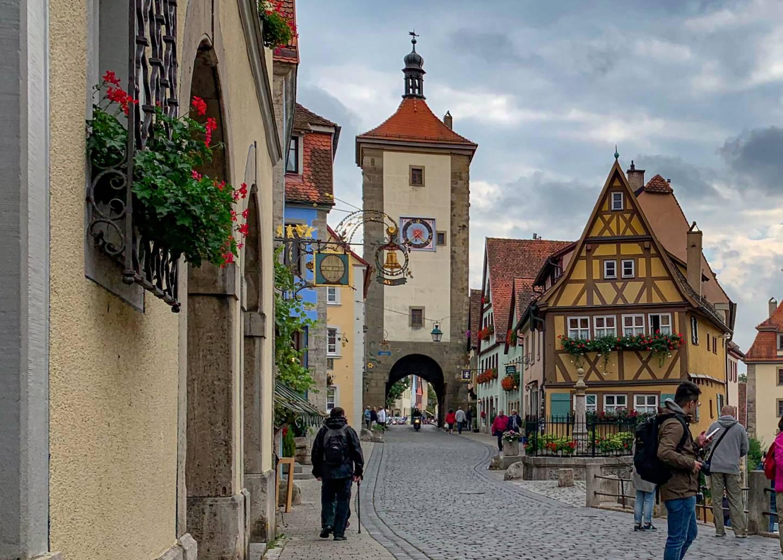 Das Plönlein in Rothenburg