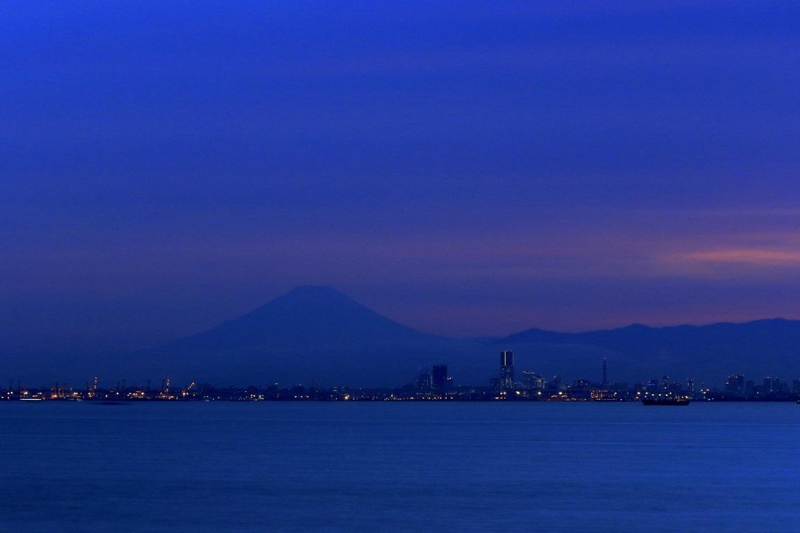 Fuji vom Umihotaru aus