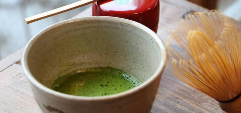 Utensilien für die Teezeremonie