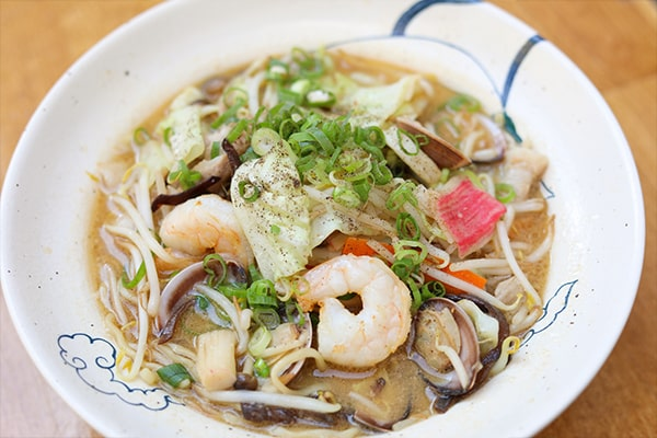 Seafood Miso Ramen