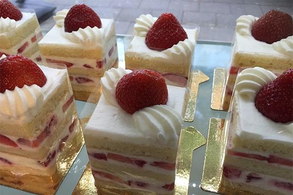 Erdbeere-Chiffon