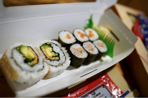 Mini-Sushi-Box des Tages