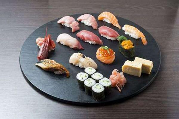 Luxus Sushi-Platte