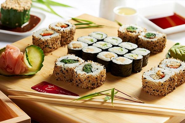 Kirin Sushi Set vegan