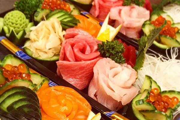 Gemischtes Sashimi Deluxe