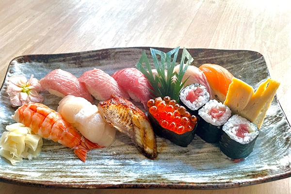 Nagomi Special Sushi Plate