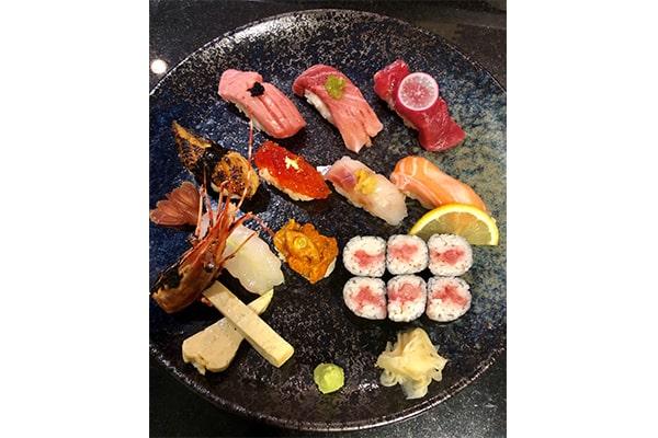Sushi-Platte Luxus