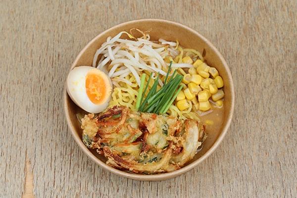 Takumi Ramen DoKomi Special (Gemüse Tempura)