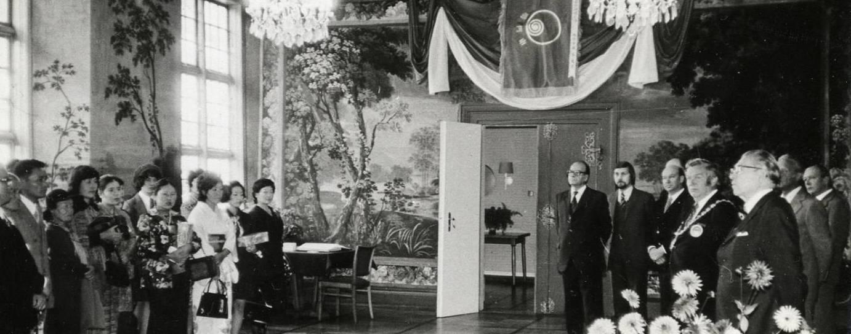 Delegation in Lüneburg 1974