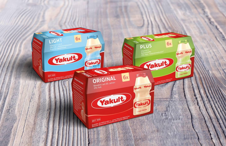 Yakult-Produkte
