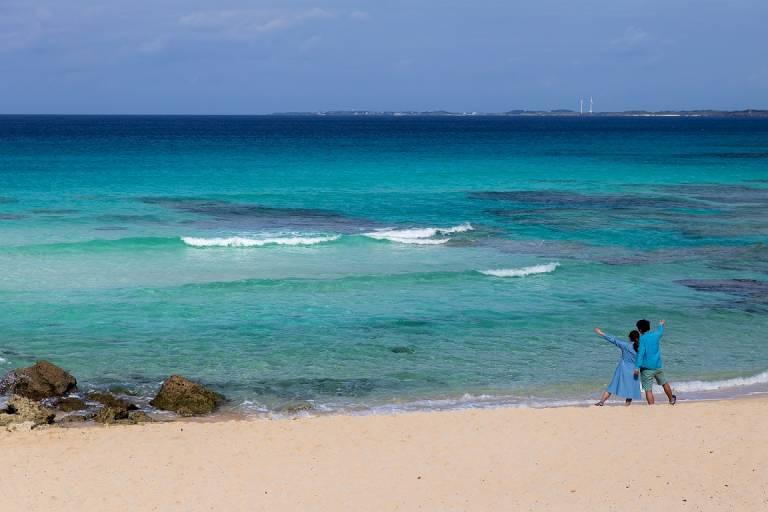 Miyako Blue auf Okinawa