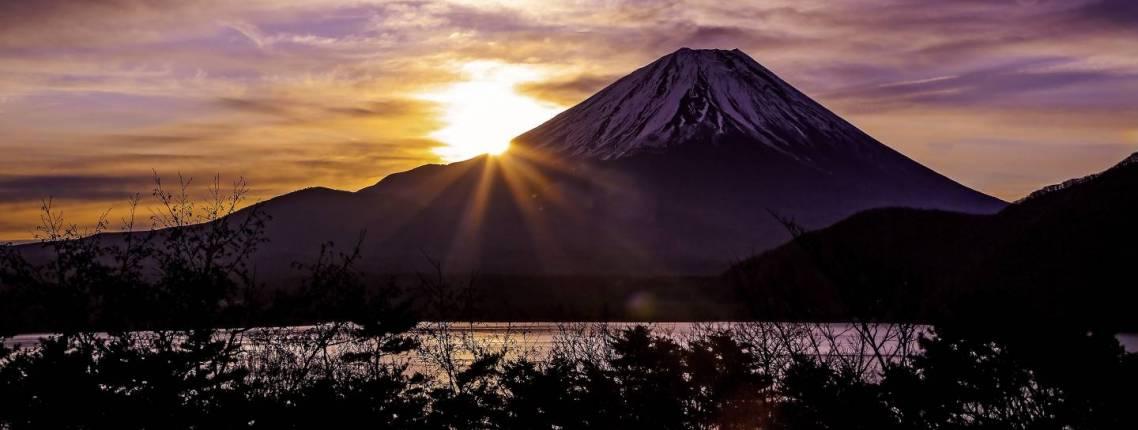 Fuji Sonnenaufgang